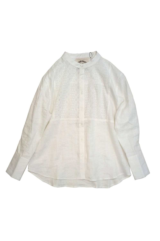 ヨーク切り替えシャツ<br />□KMF-0306