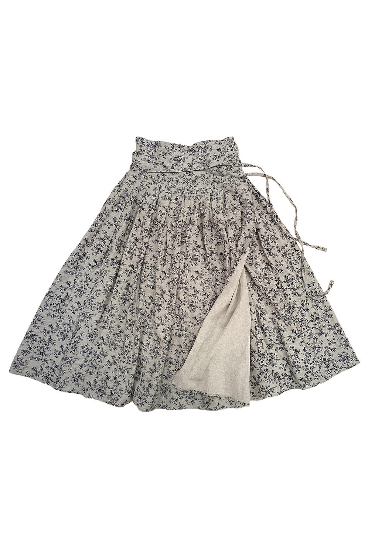 花柄巻きスカート<br />□LMF-0904