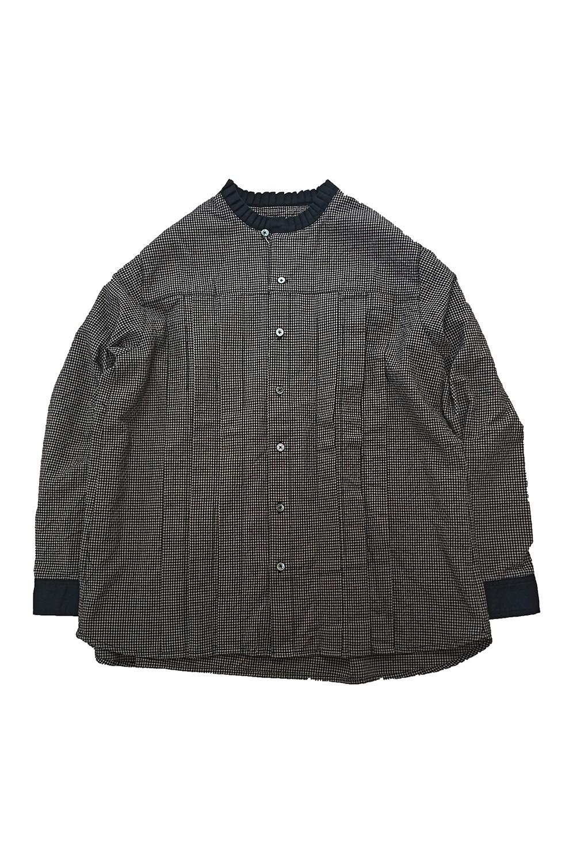 タック衿シャツ<br />□LMF-0910