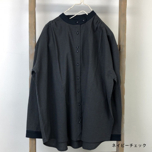 <b>MMF-1102</b>配色シャツ